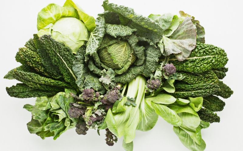 Greens are important for chickens health